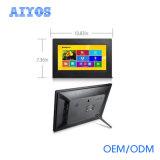 Pantalla del LCD de 10 pulgadas que hace publicidad del vídeo, señalización de Digitaces