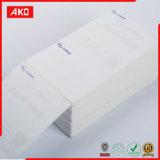Papel termal termal directo de la escritura de la etiqueta de envío del código de barras de la escritura de la etiqueta