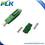 Adaptador óptico de fibra del LC SM milímetro