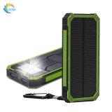 A capacidade real de MSDS 20000 mAh carregador Solar Portátil