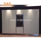 N&L moderne modulare MDF-Kraftstoffregler-festes Holz-Küche für Hauptschrank-Möbel