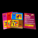 Risiko-schwierige Spiel-Spielkarte-Herstellung mit blauem Hülsenpapier