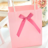 卸し売り習慣は綿のハンドルが付いている紙袋のショッピングギフト袋を印刷した