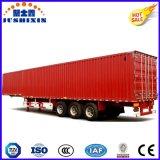 3 de Doosvormige Van Type Semi Aanhangwagen van de As Fuwa/de Aanhangwagen van de Lading stortgoed van de Vrachtwagen