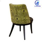 Фошань дизайна моды алюминиевая рама имитация дерева обеденный стул