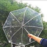 Poe Foldable 투명한 싼 접히는 우산을 광고하는 최신 판매