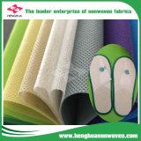 Tela entrelinhando kejme'noykejme não tecida do saco dos PP Spunbond para acessórios de matérias têxteis das sapatas