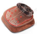 Vibration électrique et chauffage pied Chaussures pieds masseur chaud