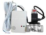 Alarme de gaz domestique avec la vanne électromagnétique de gaz