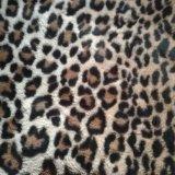 Stof van het Ontwerp van de Luipaard van het Bont van het Bont van Faux van het Bont van het Bont van de Polyester van het Bont van de druk de Valse Kunstmatige