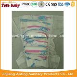 Couche-culotte remplaçable de bébé de Backsheet de coton de deux couleurs avec la bande magique