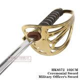 Spada cerimoniale 102cm HK8572 dell'ufficiale militare della spada della spada Commanding