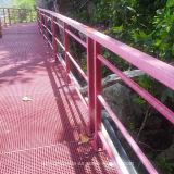 Rejas moldeadas de alta resistencia de FRP para la plataforma, calzada, cercando el &Decoration