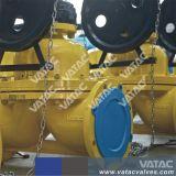 Fundición de hierro y acero inoxidable revestida o sin forro Weir (A) y en línea recta (KB) Diafragm / Válvula de diafragma (G41).