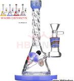 Tubo di acqua di vetro del tubo di fumo del drago di vetro di arte di colore di Amercian