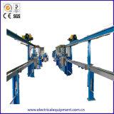Câble en plastique de l'isolement automatique sur le fil machine de l'extrudeuse