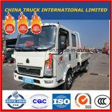 De Chinees 110p Dubbele Lichte Vrachtwagen van de Lading van de Rij HOWO