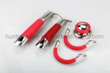 Timbratura la maniglia della maniglia del silicone/POT del Cookware/della maniglia acciaio inossidabile
