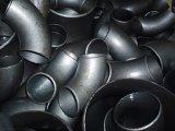 O aço de carbono do fabricante 40 centro da tubulação de 90 graus forjou o cotovelo