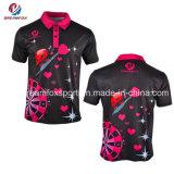cheap Custom Sublimation Companyおよび学生服のポロシャツ