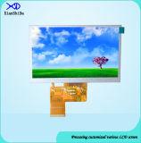 5.0 Auflösung der Zoll LCD-Bildschirmanzeige-480 (RGB) X272