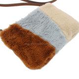 Di carrozzeria della traversa della borsa della pelliccia di tre colori