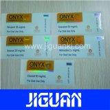 2015 étiquette chaude de fiole de laser de la qualité 10ml de vente