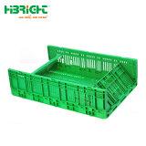 Zusammenklappbarer GemüsePlastikvoorratsbehälter für Supermarkt