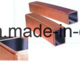 円形、正方形の、長方形の形の銅型の管