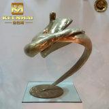 La piccola illustrazione fatta a mano del metallo dell'acciaio inossidabile perfezionamento la scultura