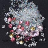 Décoration mélangée de clou de beauté de cadre de bijou de clou des talons DIY 3D de Rhinestones de décorations d'art de clou de Strass de Noël de cristaux de clou (NA02)