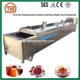 De Machine van de Pasteurisatie van de Jam van het fruit en het Pasteurisatieapparaat van het Sap van de Fles van het Glas