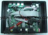 Промышленный компьютер с COM USB RJ45 карточки сети Celeron 1037u Intel держит PC материнской платы Itx миниый