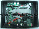 El ordenador industrial con COM del USB RJ45 de la tarjeta de red de Celeron 1037u Intel vira PC de la placa madre hacia el lado de babor del Itx la mini