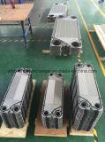 冷却剤および化学作用のための半溶接された版の熱交換器