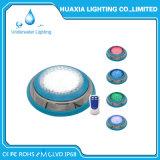 IP68 impermeabilizzano l'indicatore luminoso fissato al muro della piscina di 12V RGB LED