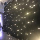 Decoração do estágio da cortina da luz da estrela do diodo emissor de luz do contexto do evento