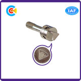 DIN/ANSI/BS/JIS Carbon-Steel/Stainless-Steel orifício cilíndrico com um parafuso de vedação no pino