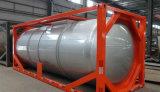 프레임을%s 가진 반 40FT 화학제품 액체 트레일러 탱크 콘테이너