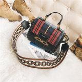 Оптовая торговля решетке цепь женская сумка леди PU женщин дамской сумочке