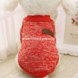 싼 겨울 애완 동물은 다중 색깔에 있는 개 스웨터를 입는다