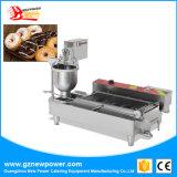 De commerciële volledig Automatische Cake die van de Doughnut tot Machine maken de MiniMaker van de Doughnut met Roestvrij staal #304