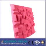 панель волокна полиэфира украшения стены 3D акустическая
