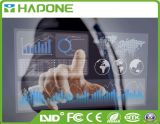 '' points de la résolution de la taille 98 6 à 10 touchant le contact interactif TV d'affichage à cristaux liquides