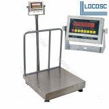 온화한 강철 또는 스테인리스 LED/LCD 전시 500kg 무게를 다는 가늠자
