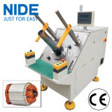 Matériel semi-automatique de mise en place d'enroulement de bobine de stator triphasé de moteur