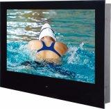 Водонепроницаемая IP68, встроенный в водонепроницаемый телевизор в ванной комнате с пульт ДУ динамиков
