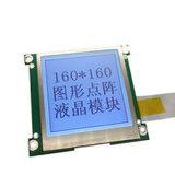 160 LCD van X 32 Punten het Grafische Scherm van de Module van de Vertoning, Geelgroene Positieve Wijze Stn met Geelgroene Backlight