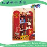 학교 빨간 색칠 만화 아이들 나무로 되는 책장 (HG-4103)