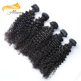 Alimina 100% main liée Virgin Indian Remy Hair trame